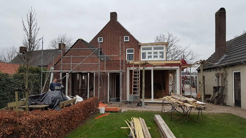 Uitbreiding en verbouw woonhuis te Biest-Houtakker