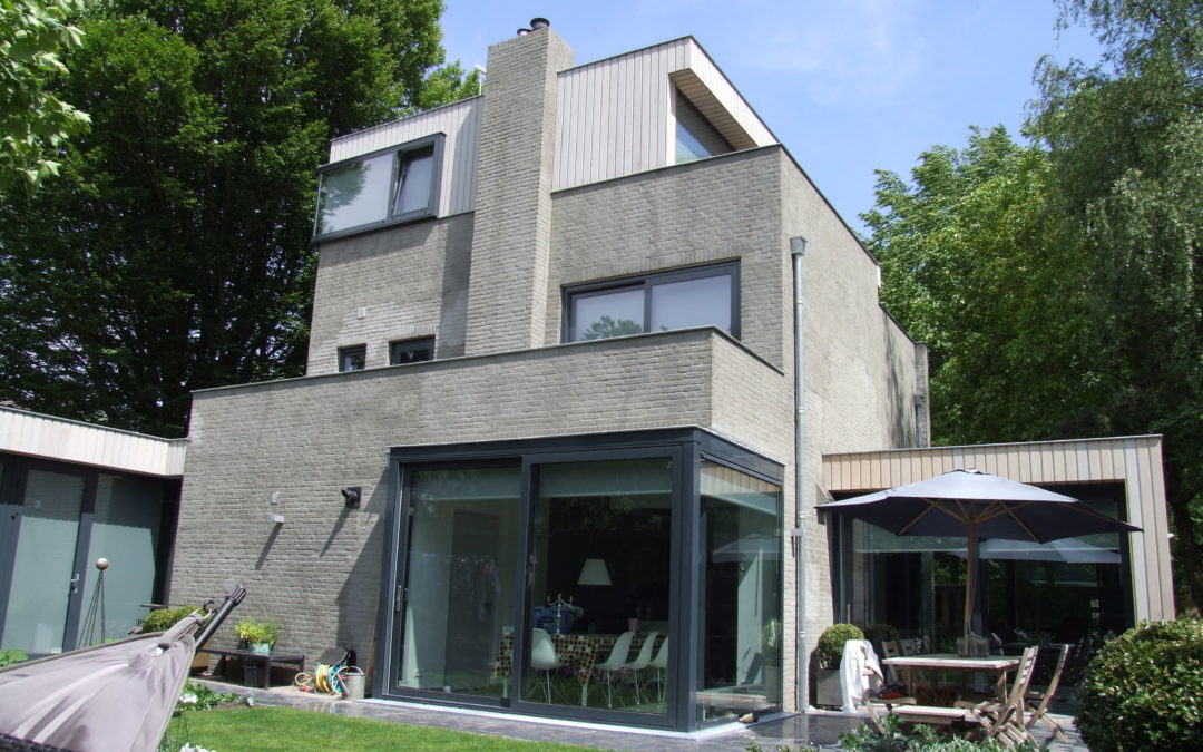 Uitbreiding en verbouw woonhuis te Tilburg
