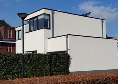 Houtskeletbouw woning in Tilburg