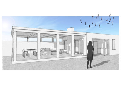 Uitbreiding en verbouw villa te Tilburg
